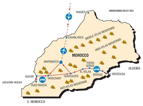 モロッコ砂漠の旅|マラケシュ①