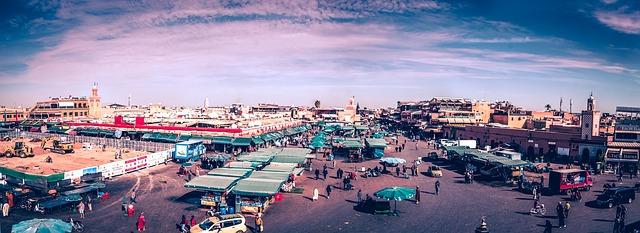 モロッコ砂漠の旅|マラケシュ②