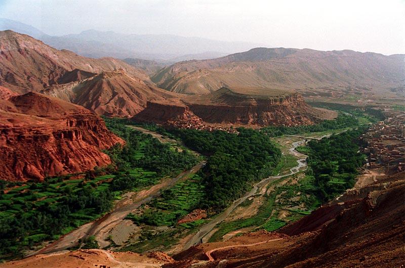 モロッコ砂漠の旅|アイット・ベン・ハドゥ