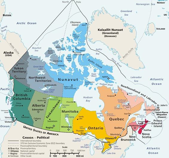 【カナダ/旅行】オーロラ 時期と場所