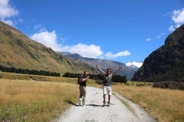ロブロイ氷河 in ニュージーランド|クイーンズタウン~日帰り探検