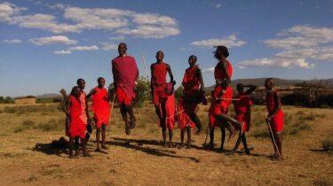 大自然ケニアの女子旅