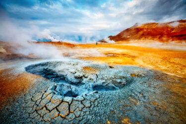 大迫力なアイスランドの火山観光